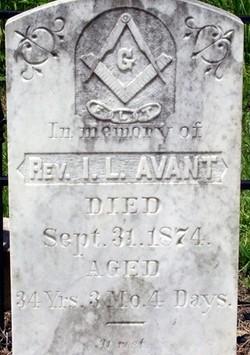 Rev I. L. Avant