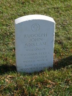 Rudolph John Anklam