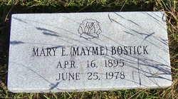 Mary Ellen Mayme <i>Formby</i> Bostick