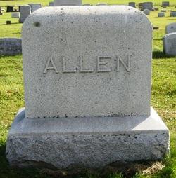 Amelia F Minnie <i>Sawdey</i> Allen