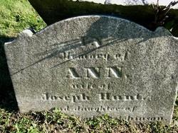 Ann <i>Hutchinson</i> Hunt