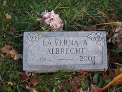 LaVerna A Albrecht