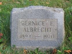 Bernice E <i>Gardner</i> Albrecht