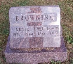 Susie <i>Van Sickle</i> Browning