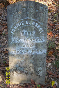 Fannie Evelyn <i>Neal</i> Ashby