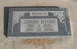 Sarah Matilda Tillie <i>Hardman</i> Aston