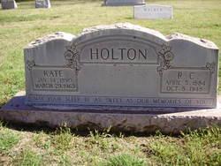 Richard Cleveland R.C. Holton