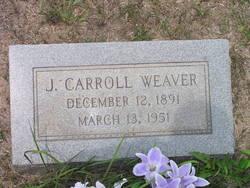 J Carroll Weaver