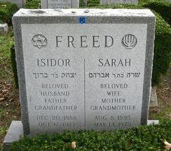 Isidor Freed