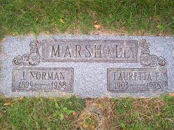 Lauretta E <i>Irons</i> Marshall