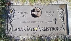 Lana Gaye <i>Gowen</i> Armstrong