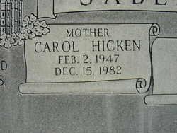 Carol <i>Hicken</i> Sabey