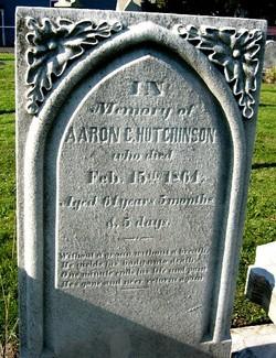 Aaron C Hutchinson