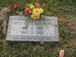 Amily Lee <i>Scales</i> Byrns