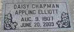 Daisy Catherine <i>Chapman</i> Appling Elliott