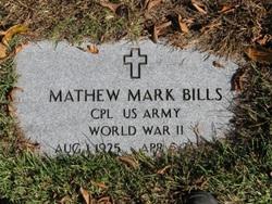 Matthew Mark Bills