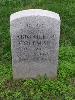 Abigaile B Coleman