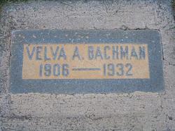 Velva A. Bachman