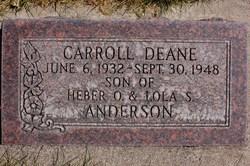 Carroll Dean Anderson