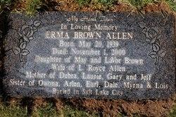 Erma <i>Brown</i> Allen