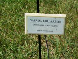 Wanda Lou <i>Inman</i> Aaron