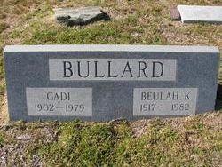 Beulah <i>Kissiah</i> Bullard
