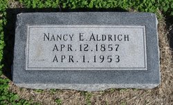 Nancy E. <i>Benjamin</i> Aldrich