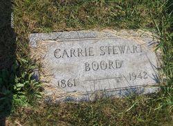 Lydia Caroline Carrie <i>Stewart</i> Boord
