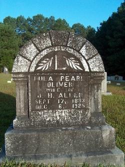Lula Pearl <i>Oliver</i> Allen