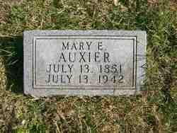 Mary Ellen <i>May</i> Auxier