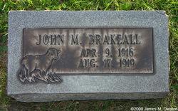 John Milford Brakeall