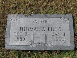 Thomas A Bills