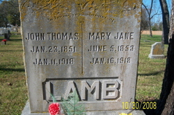 Mary Jane <i>Young</i> Lamb