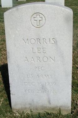 PFC Morris Lee Aaron