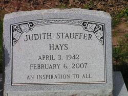 Judith <i>Stauffer</i> Hays