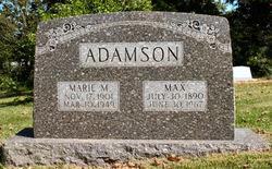 Marie Eli <i>Morrow</i> Adamson