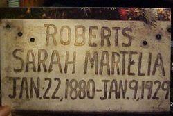 Sarah Martelia <i>Roberts</i> Roberts