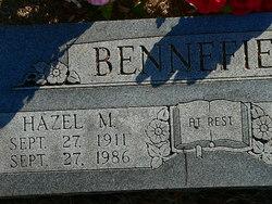 Hazel McChristian <i>Spear</i> Bennefield