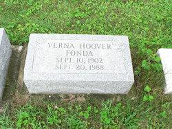 Verna <i>Hoover</i> Fonda