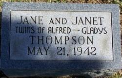 Twin Infant Jane Thompson