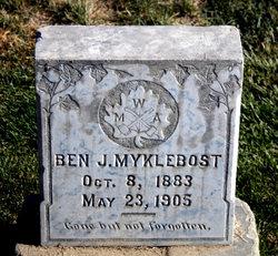 Benjamin Johan Myklebost