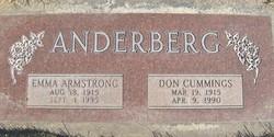 Emma Jeannette <i>Armstrong</i> Anderberg
