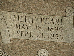 Lillie Pearl <i>Billings</i> Carriere