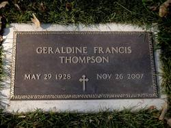 Gearldine Francis <i>Mcbeth</i> Thompson