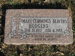 Mary <i>Beaver</i> Cummings Hodgens