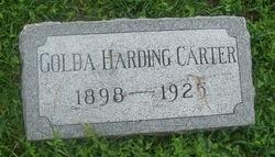 Golda <i>Harding</i> Carter