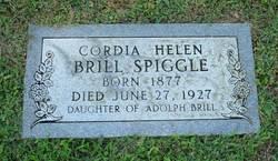 Cordia Helen <i>Brill</i> Spiggle