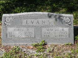 Maude B. Evans