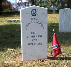 Sgt John D. Clopton