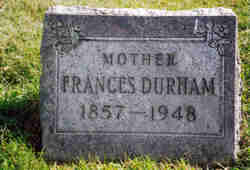 Frances <i>Smith</i> Durham